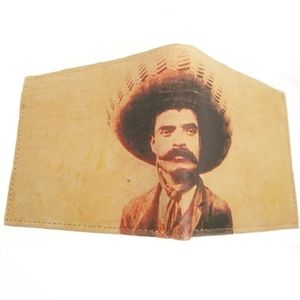 Emiliano Zapata leather wallet New
